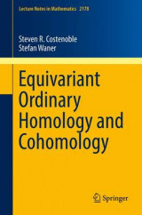 Omslag - Equivariant Ordinary Homology and Cohomology 2016