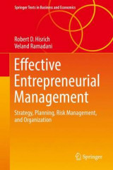 Omslag - Effective Entrepreneurial Management 2017