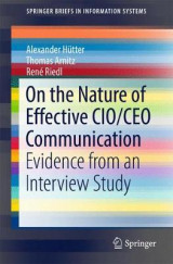 Omslag - On the Nature of Effective CIO/CEO Communication