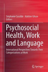 Omslag - Psychosocial Health, Work and Language