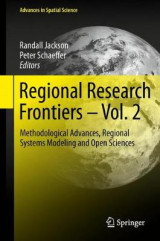 Omslag - Regional Research Frontiers 2017: Vol. 2