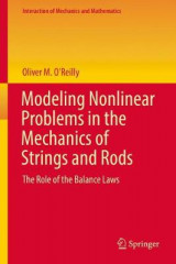 Omslag - Modeling Nonlinear Problems in the Mechanics of Strings and Rods