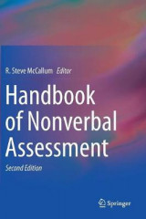 Omslag - Handbook of Nonverbal Assessment