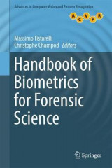 Omslag - Handbook of Biometrics for Forensic Science