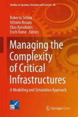 Omslag - Managing the Complexity of Critical Infrastructures 2016