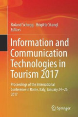 Omslag - Information and Communication Technologies in Tourism 2017