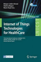 Omslag - Internet of Things Technologies for Healthcare 2016