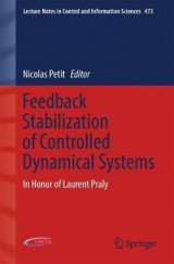 Omslag - Feedback Stabilization of Controlled Dynamical Systems