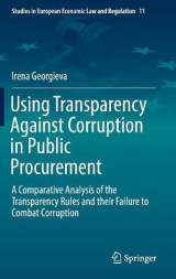 Omslag - Using Transparency Against Corruption in Public Procurement 2017