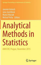 Omslag - Analytical Methods in Statistics