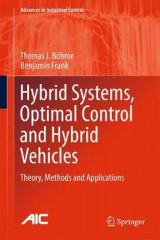 Omslag - Hybrid Systems, Optimal Control and Hybrid Vehicles