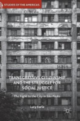 Omslag - Transgressive Citizenship and the Struggle for Social Justice