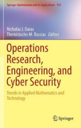 Omslag - Operations Research, Engineering, and Cyber Security 2017