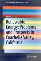 Omslag - Renewable Energy: Problems and Prospects in Coachella Valley, California 2017
