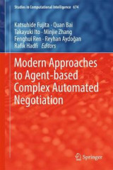 Omslag - Modern Approaches to Agent-Based Complex Automated Negotiation