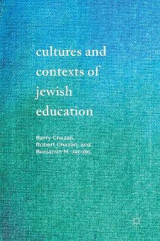 Omslag - Cultures and Contexts of Jewish Education