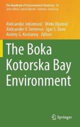 Omslag - The Boka Kotorska Bay Environment