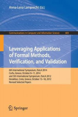 Omslag - Leveraging Applications of Formal Methods, Verification, and Validation