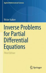 Omslag - Inverse Problems for Partial Differential Equations 2017