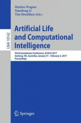 Omslag - Artificial Life and Computational Intelligence