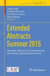 Omslag - Extended Abstracts Summer 2015