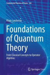 Omslag - Foundations of Quantum Theory