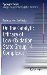 Omslag - On the Catalytic Efficacy of Low-Oxidation State Group 14 Complexes