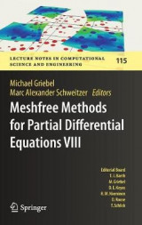 Omslag - Meshfree Methods for Partial Differential Equations VIII