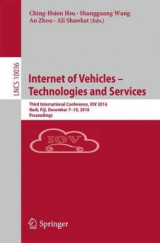 Omslag - Internet of Vehicles - Technologies and Services