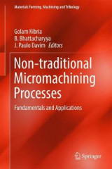 Omslag - Non-Traditional Micromachining Processes