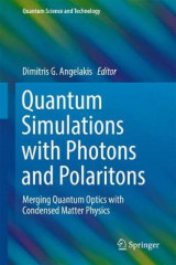 Omslag - Quantum Simulations with Photons and Polaritons