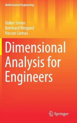 Omslag - Dimensional Analysis for Engineers