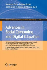 Omslag - Advances in Social Computing and Digital Education