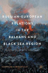Omslag - Russian-European Relations in the Balkans and Black Sea Region
