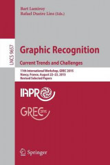 Omslag - Graphic Recognition. Current Trends and Challenges 2017