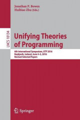 Omslag - Unifying Theories of Programming 2017