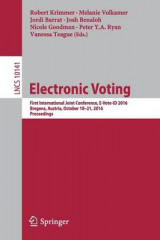 Omslag - Electronic Voting 2017