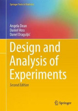Omslag - Design and Analysis of Experiments 2017
