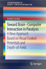 Omslag - Toward Brain-Computer Interaction in Paralysis 2017