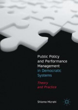 Omslag - Public Policy and Performance Management in Democratic Systems