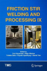 Omslag - Friction Stir Welding and Processing IX