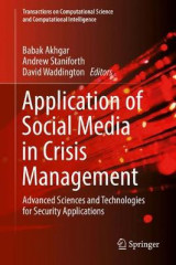 Omslag - Application of Social Media in Crisis Management