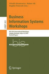 Omslag - Business Information Systems Workshops 2017