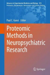 Omslag - Proteomic Methods in Neuropsychiatric Research 2017