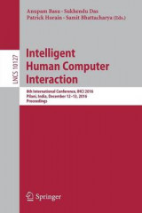 Omslag - Intelligent Human Computer Interaction