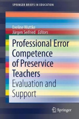 Omslag - Professional Error Competence of Preservice Teachers