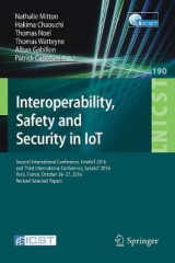 Omslag - Interoperability, Safety and Security in IoT 2017