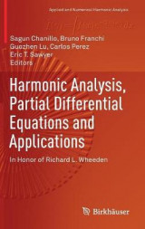Omslag - Harmonic Analysis, Partial Differential Equations and Applications