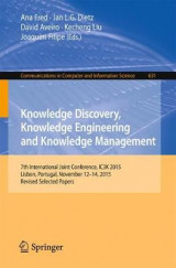 Omslag - Knowledge Discovery, Knowledge Engineering and Knowledge Management 2016