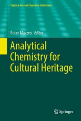 Omslag - Analytical Chemistry for Cultural Heritage 2017
